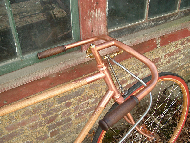 ANT Bikes Copper and Wood
