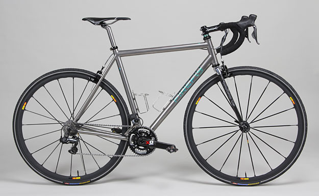 Firefly Bicycles Di2 Ti Dirt Road Cycle Exif