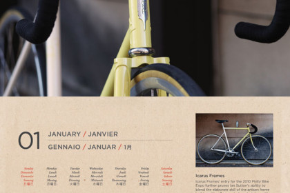 Cycle EXIF Bicycle Calendar 2012