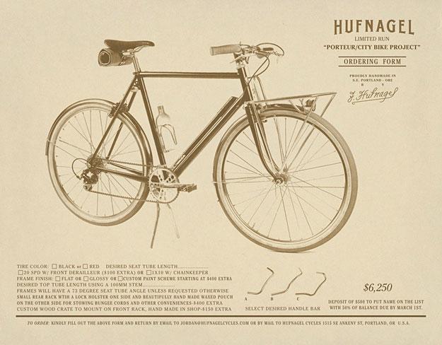 Hufnagel Cycles Porteur/City Bike Project