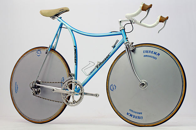 Francesco Moser TT 51.151 Hour Record
