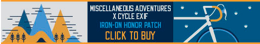 Miscellaneous Adventures X Cycle EXIF Honor Patch