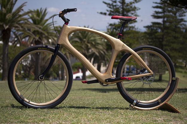 full size - Wooden Bike Frame