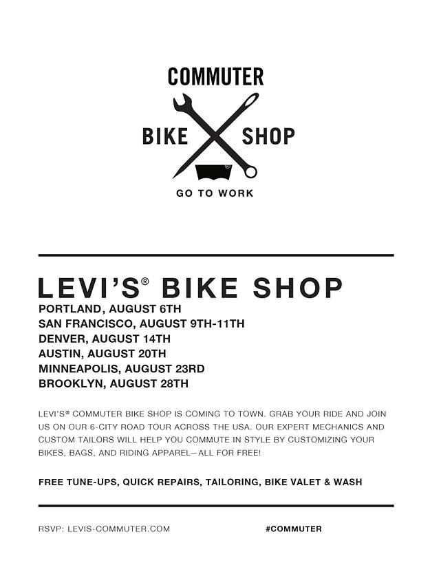 Levis Commuter Bike Shop