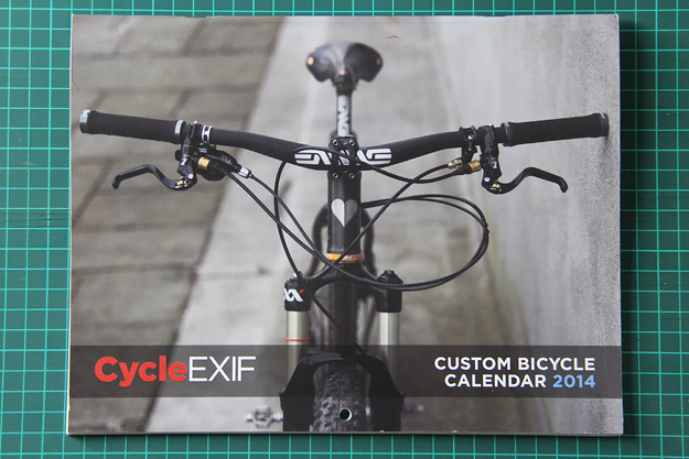 Cycle EXIF Custom Bicycle Calendar 2014