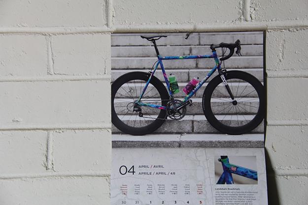 Cycle EXIF Custom Bicycle Calendar 2014