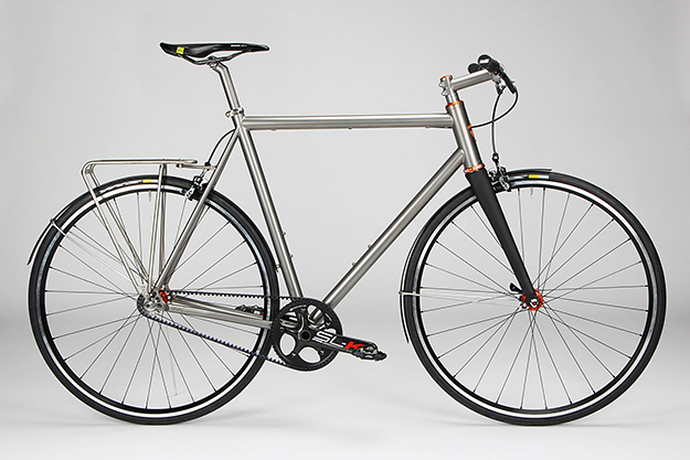 Firefly Bicycles Ti Commuter Cycle Exif
