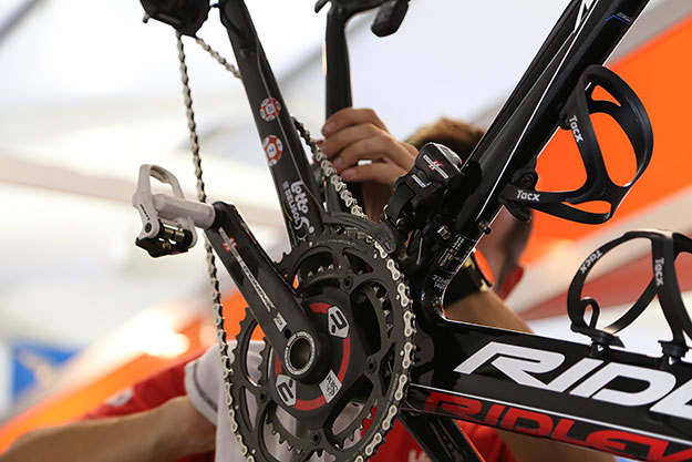 Campagnolo at the Tour Down Under