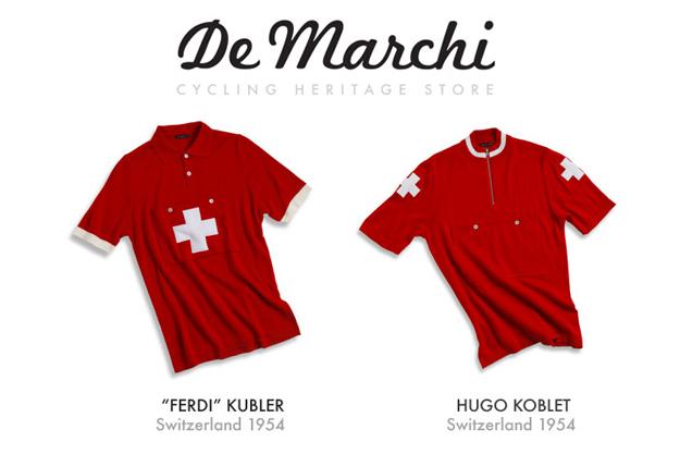 De Marchi Koblet and Kubler Jersey