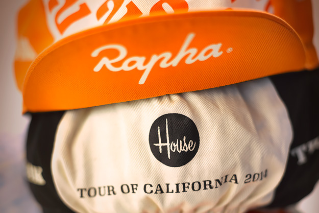 House Industries for Rapha: TOC Caps