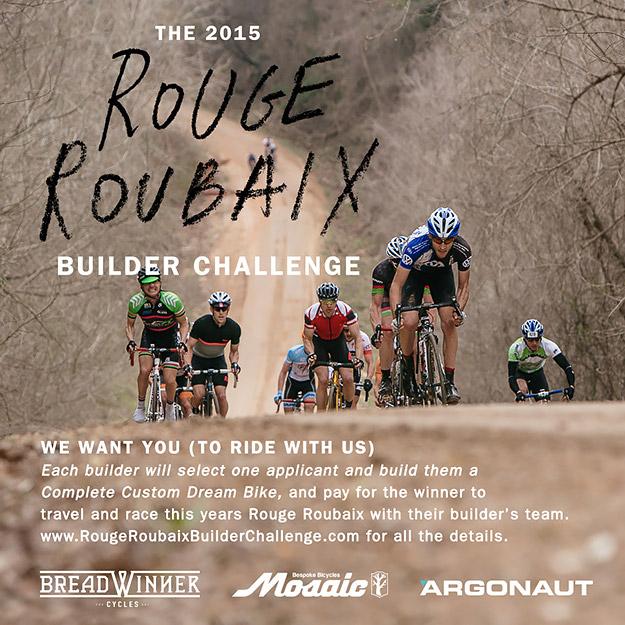 The Rouge Roubaix Builder Challenge
