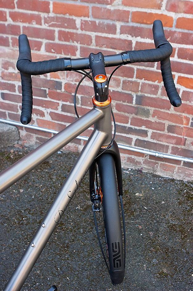 DeSalvo Custom Cycles Ti Grinder