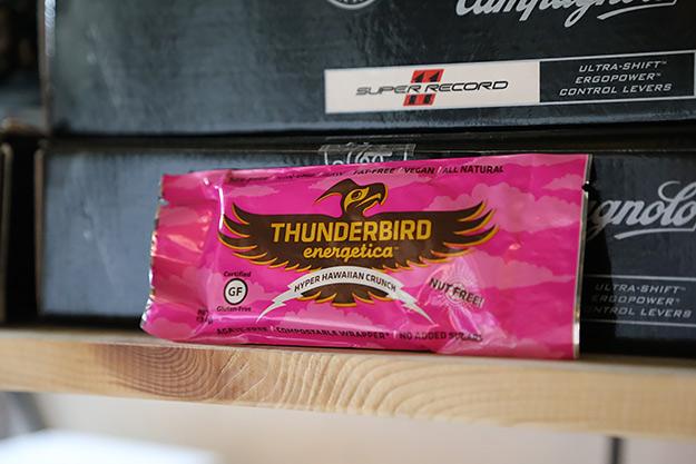 Gear: Thunderbird & Raw Bite Bars