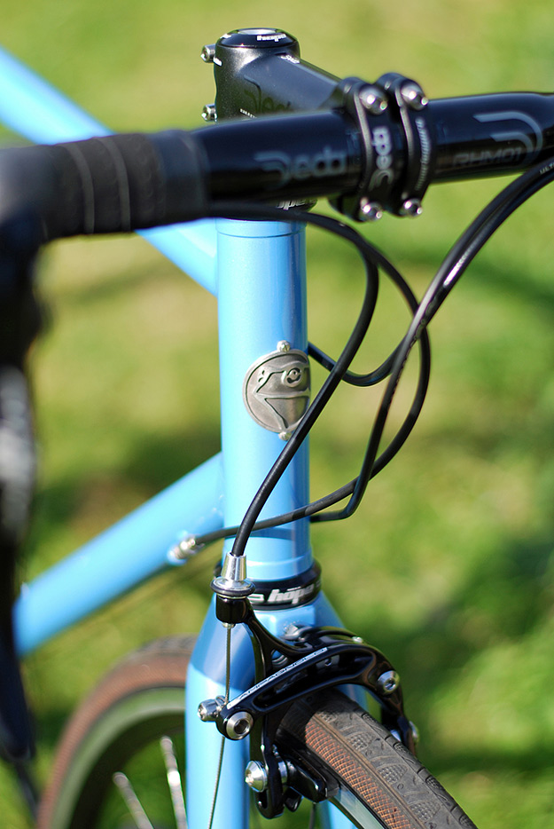 Toad Custom Cycles Blue Road
