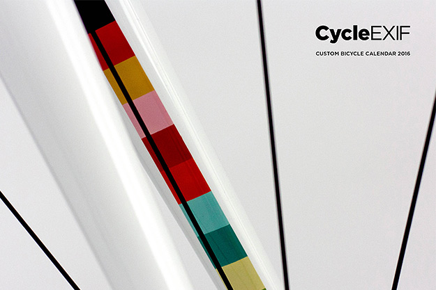Cycle EXIF Custom Bicycle Calendar 2016