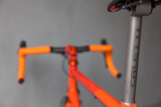 Caletti Cycles Big Orange Road