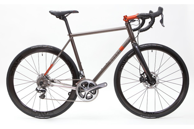 Burnt Ochre: Jame's Rusby Cycles Road