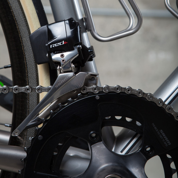 Above Category and Baum Cycles make a bike for SRAM RED® eTap