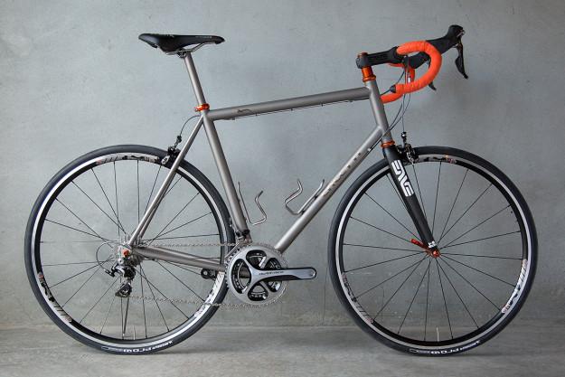 Santa Cruisin': Caletti Cycles Ti Road