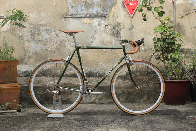 In The Lion City: The Engraved Campagnolo Colnago