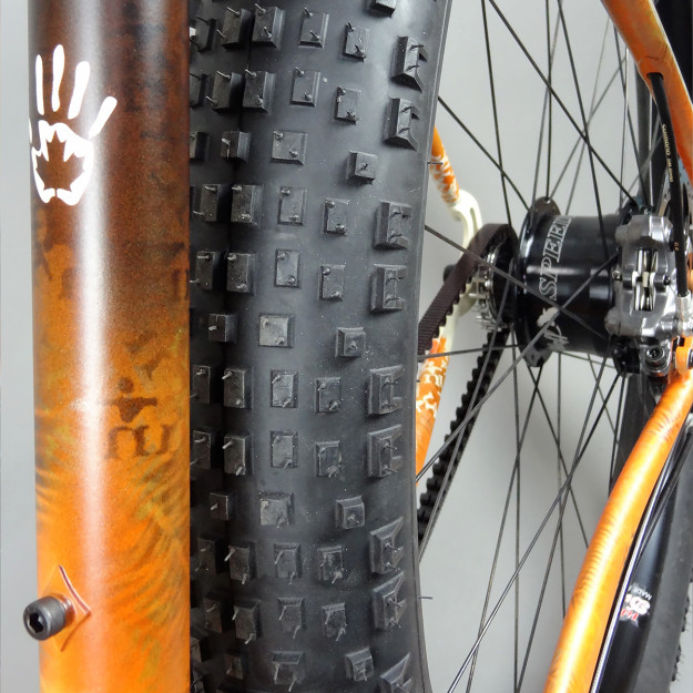 Belt Drive In The Buff: Naked Bicycles Rigid 29+ MTB