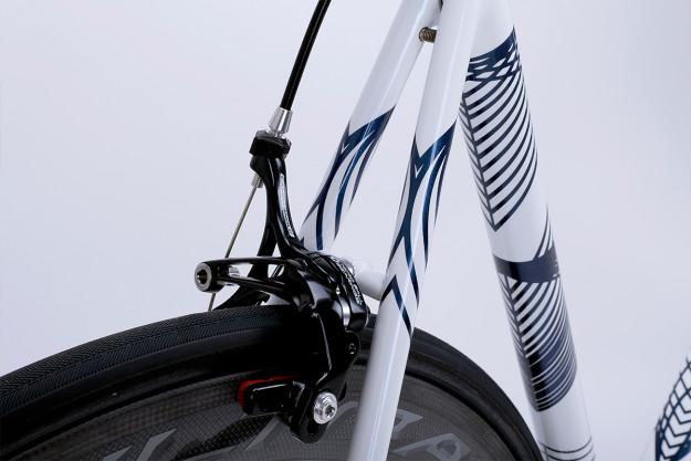 Saffron Frameworks: Matt's Own Race Bike