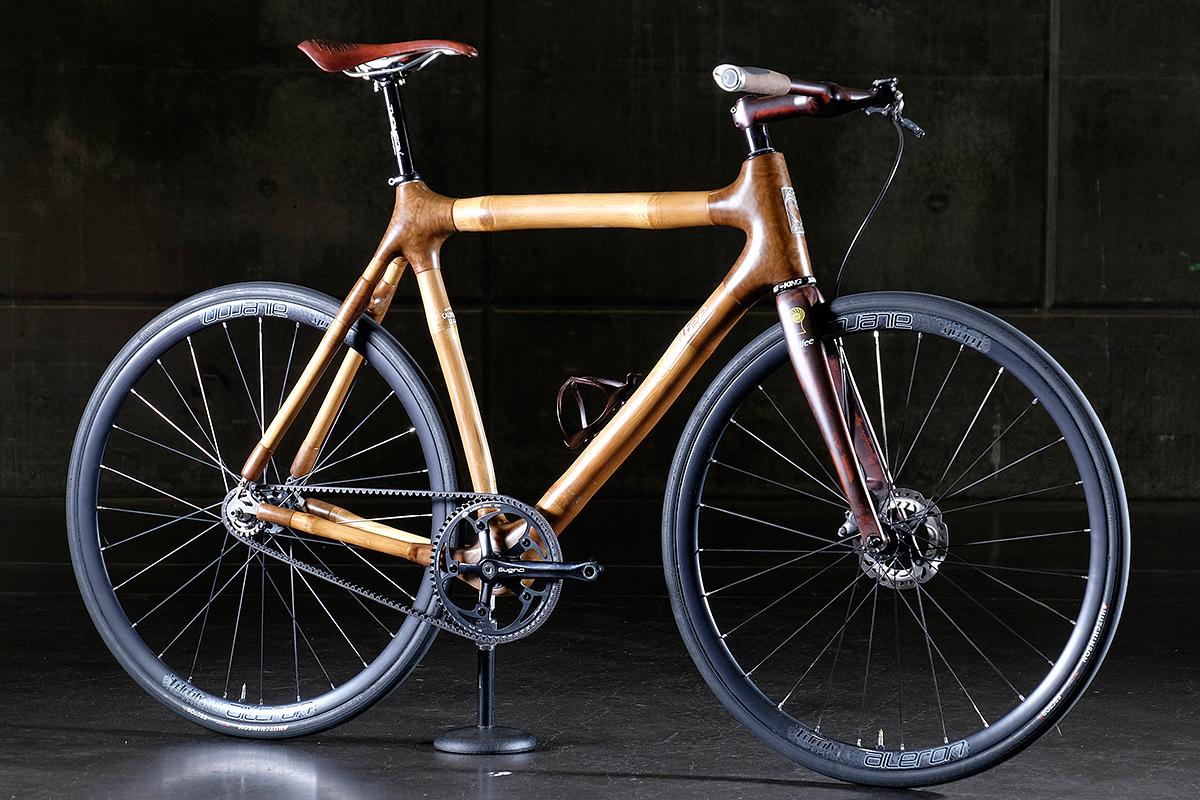 The Grass Is Greener: Calfee Design Bamboo Fixed Gear ...