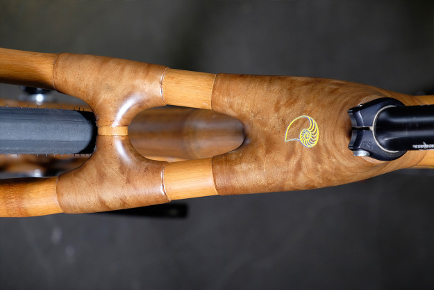 The Grass Is Greener: Calfee Design Bamboo Fixed Gear
