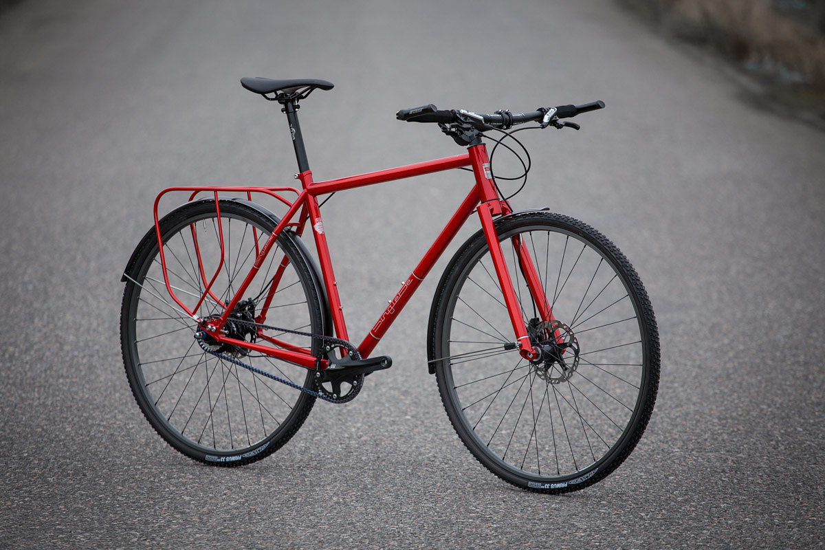 Czech Both Ways Singlebe Red Commuter Cycle Exif