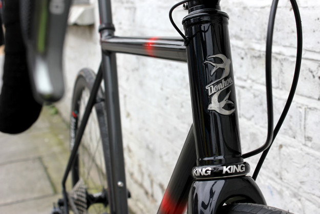 The Dark Side Ride: Donhou Bicycles Di2 Road Bike