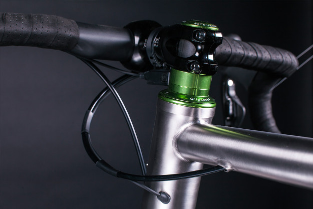 Red, White And Sour Apple All Over: Triton Bikes Ti Road