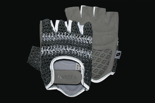 VEEKA Cycling RFLTV Gloves: Night Rider