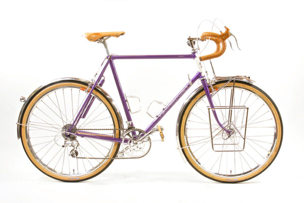 Gettin' The Hell Outta Dodge: Chapman Cycles Plum Crazy Tourer