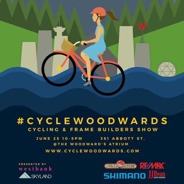 Vancouver's #cyclewoodwards — Cycling And Frame Builders Show