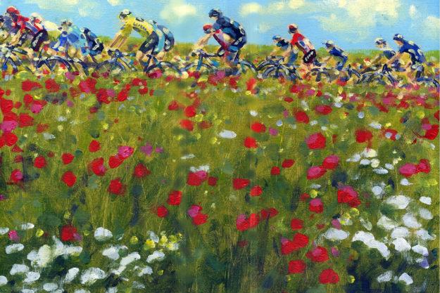 The Race Of Colour: Painting Le Tour