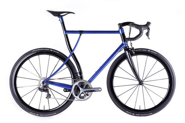 The Deepest Blues Are Black: Saffron Frameworks' Concept Bike