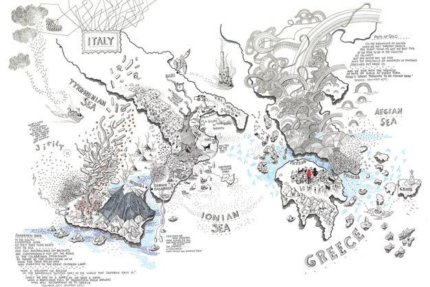 Drawn Upon Experience: Alex Hotchins' 'Borderless'