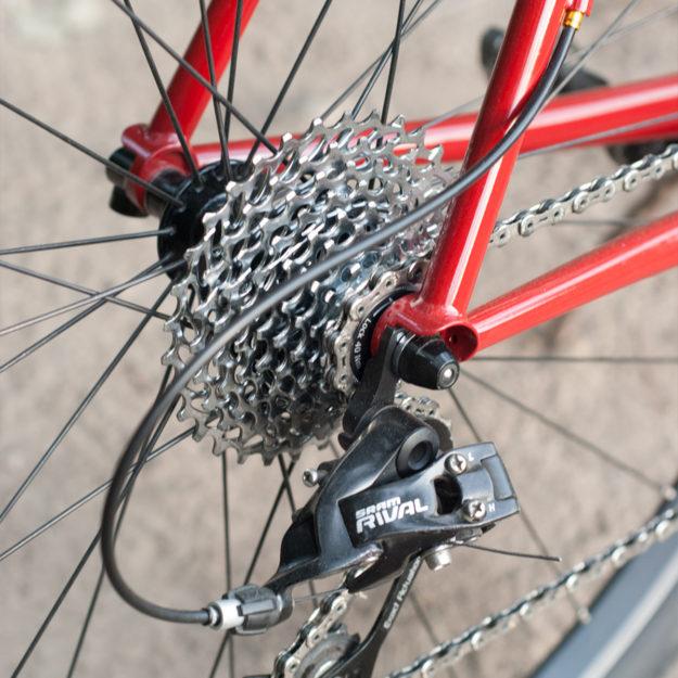 Syracuse, Flarin' Up: Cobra Frames Fat Tyre Road