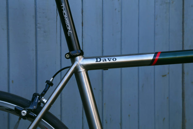 Seattle Great Wheels: Davo's Ti Davidson Road