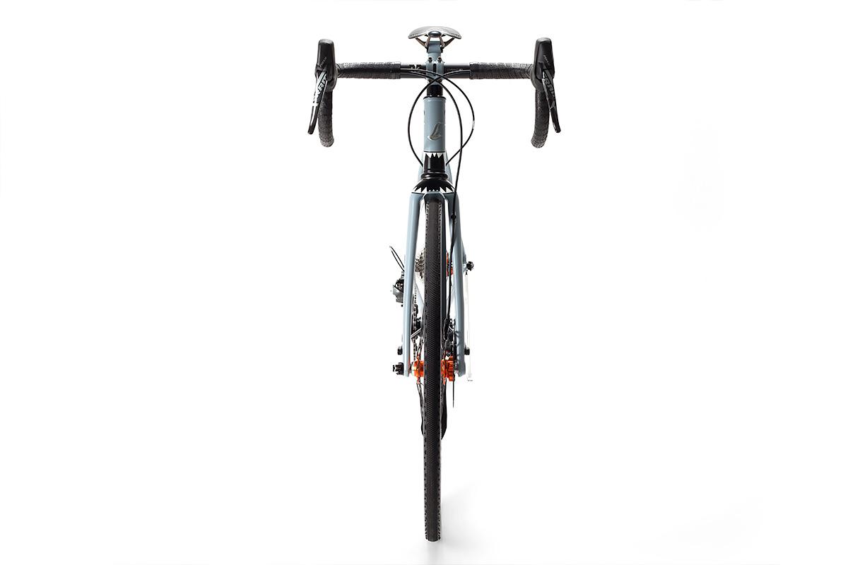 Grey Nurse Saffron Frameworks Spitfire All Road Bike Cycle Exif