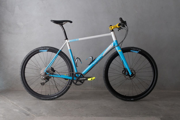 This Is An Adventure: Caletti Cycles Belafonte Scrambler