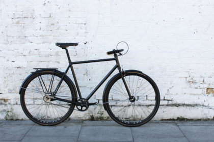 Nine Lives, Cat's Eyes: Donhou Bicycles Black Commuter