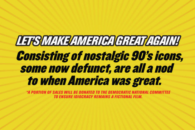 Let's Make America Great Again: God And Famous Idiocracy Kit