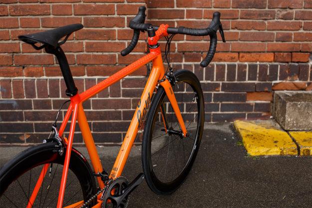 Orange Is The New Black: Field Cycles SF Road Bike