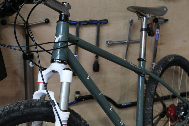 Made In Dorset: Sven Cycles Workshop Visit