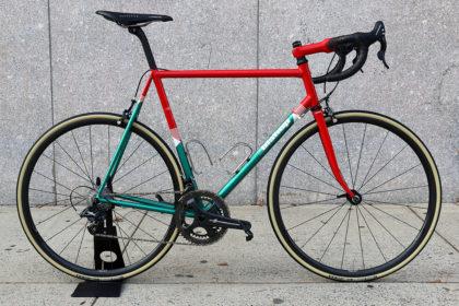 Total Brain Freeze: Bishop Bikes x Maglia Rosa x Velocolour
