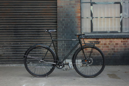 Midnight Green Machine: Donhou Bicycles Modern Porteur