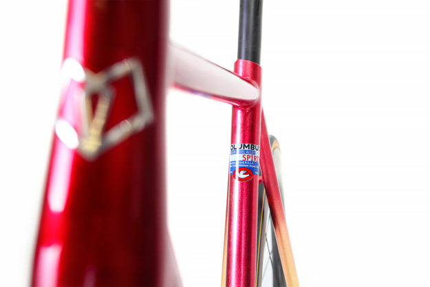 Ready For Gold: Juliet Elliott's Hartley Cycles Red Hook Racer