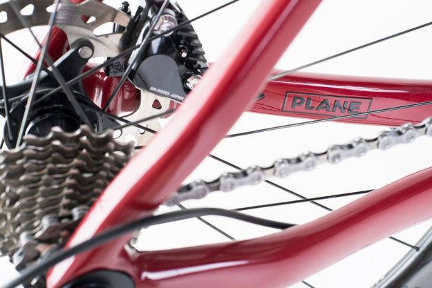 Asphalt Angel: PLANE Frameworks Custom Carbon