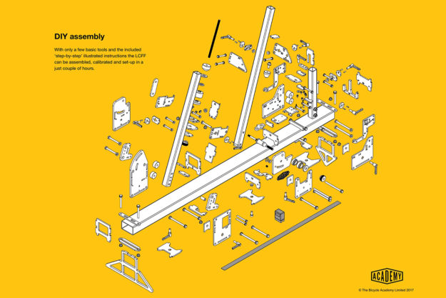 Well Made Things: Academy Tools Low Cost Frame Fixture